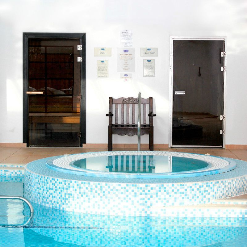 Relax in our Jacuzzi