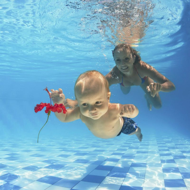 Swimming classes for the little ones